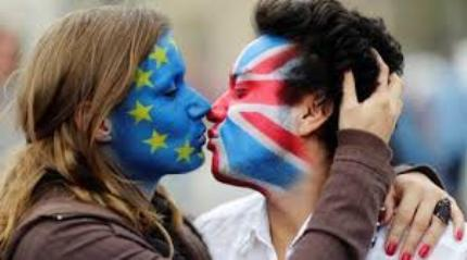 Brexit-kiss